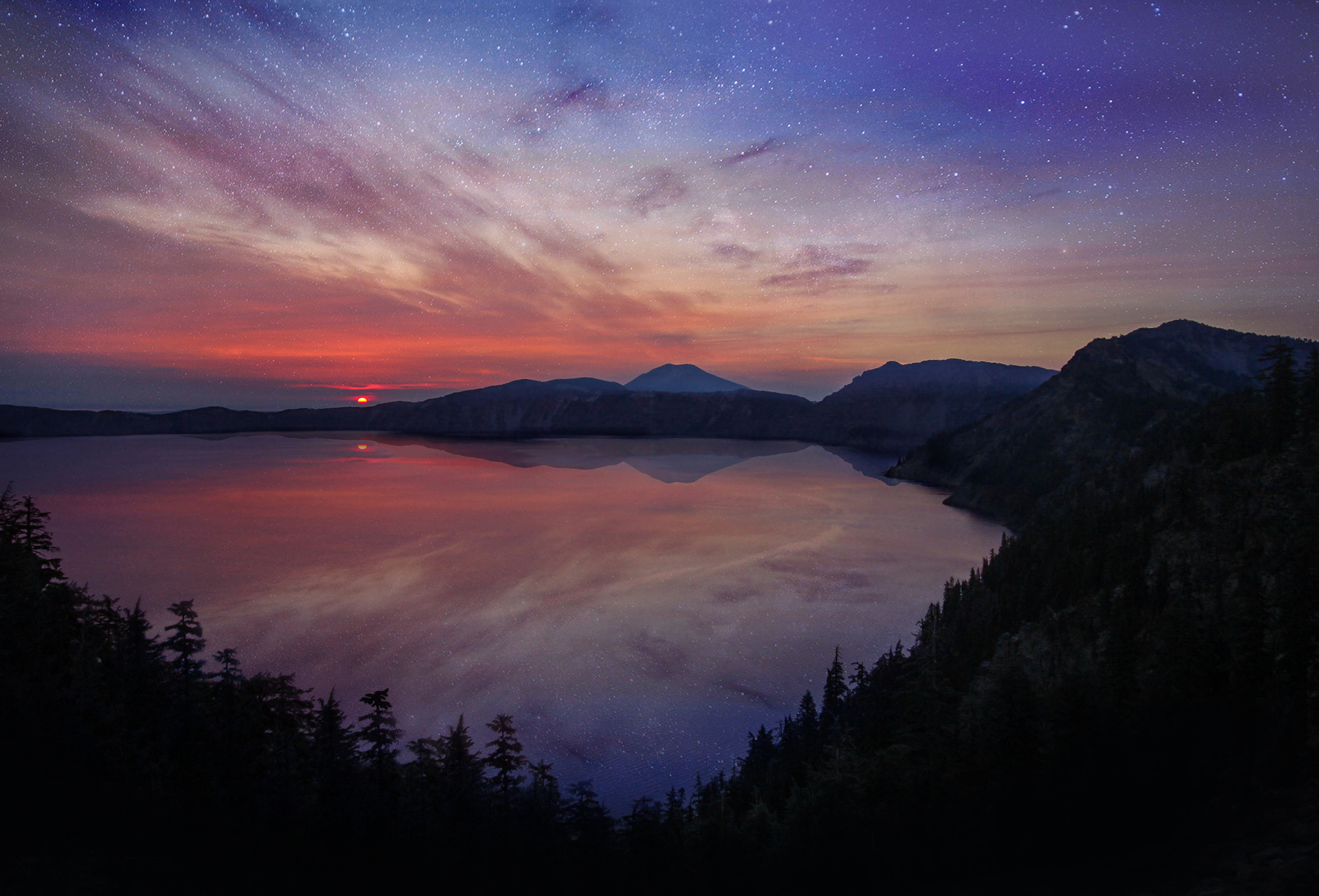 I'll never forget the morning I woke up at 4am to catch the sunrise over Crater Lake.